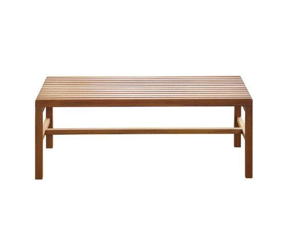 Slat Bench by BassamFellows by BassamFellows
