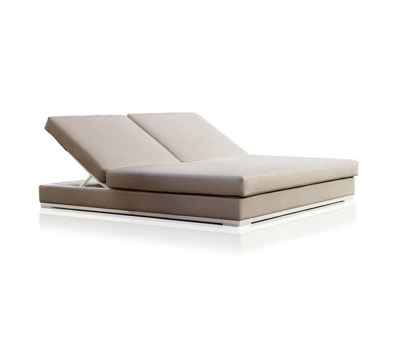 Slim Double Chaise longue by Expormim by Expormim