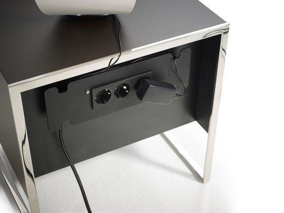 smart bedside tableyomeiandré schelbach for yomei Different Bedside Tables