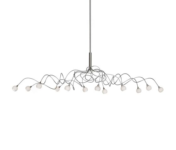 Snowball oval pendant light 12 by HARCO LOOR by HARCO LOOR