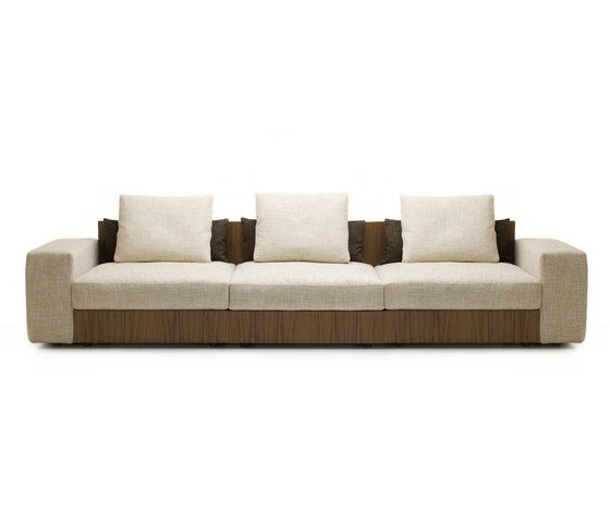 Sofa So Wood | 3-seater sofa by Mussi Italy by Mussi Italy