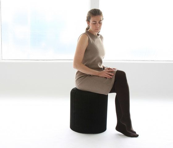 softseating | black paper softseating by molo by molo