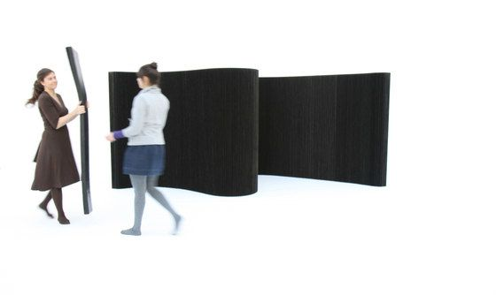 softwall | black textile by molo by molo
