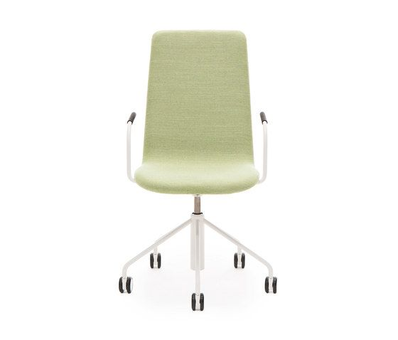 Sola conf chair with swivel base with castors and height adjustment by Martela Oyj by Martela Oyj