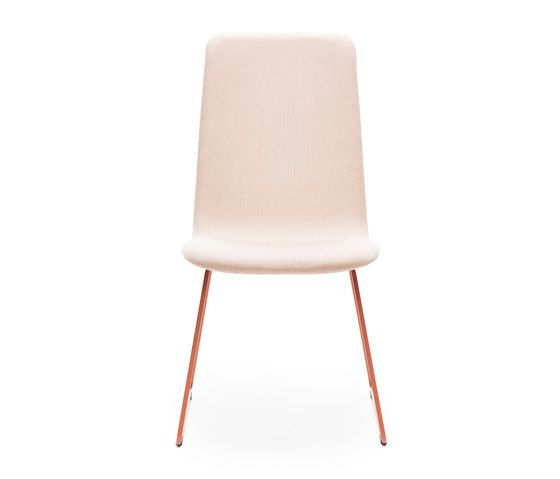 Sola conference chair with sled base high backrest by Martela Oyj by Martela Oyj