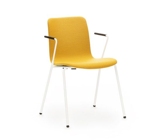 Sola with armrests & fully upholstered by Martela Oyj by Martela Oyj