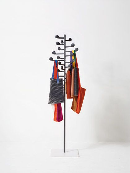 Song Wall-mounted Coat Rack by Arper by Arper