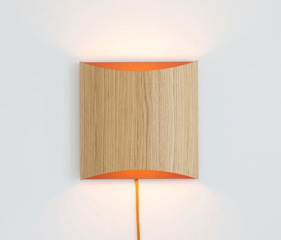 Sophie wall oak copper with cable by lasfera by lasfera