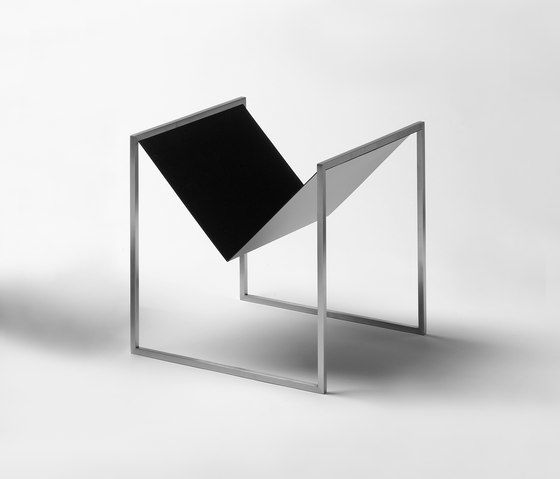 Square Magazine Holder by Askman by Askman