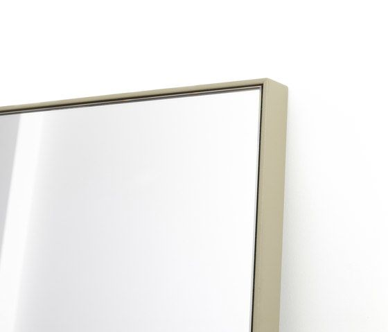 Steel frame mirror by Bautier by Bautier