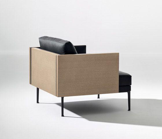 Steeve armchair by Arper by Arper