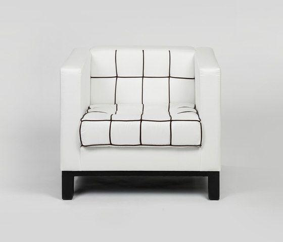Stella Quadra armchair by Lambert by Lambert