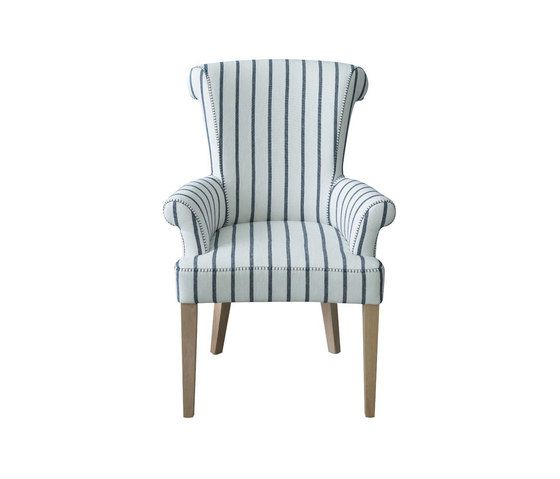 Stitch Alto Chair with arms by Designers Guild by Designers Guild