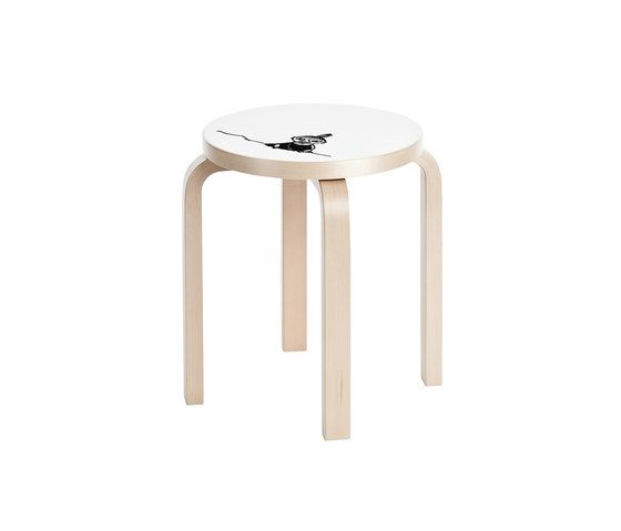 Stool E60 Moomin | Little My by Artek by Artek