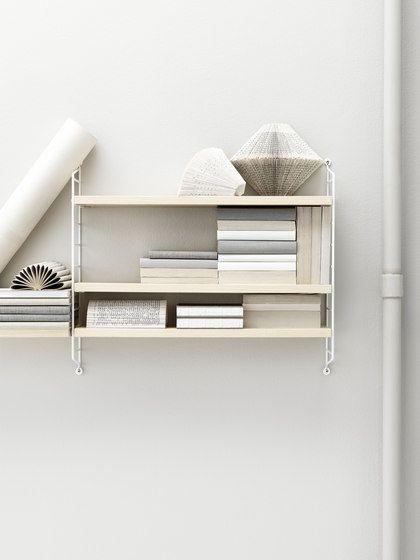 string pocket ash/white by string furniture by string furniture