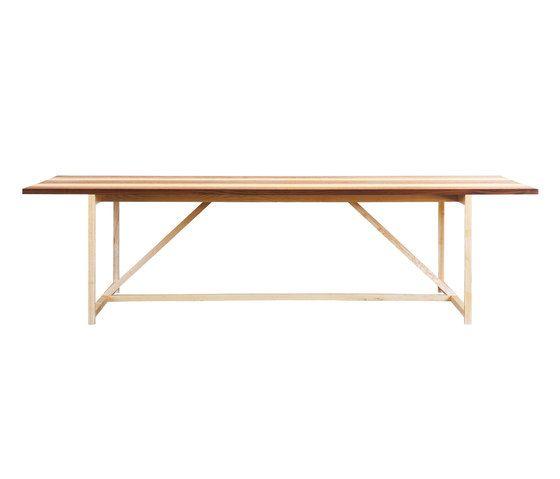 Stripe 8 Table by BassamFellows by BassamFellows