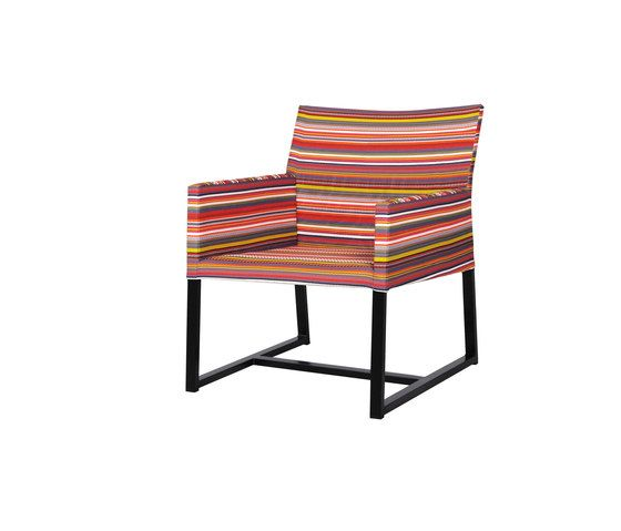 Stripe casual chair (horizontal) by Mamagreen by Mamagreen