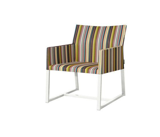 Stripe casual chair (vertical) by Mamagreen by Mamagreen