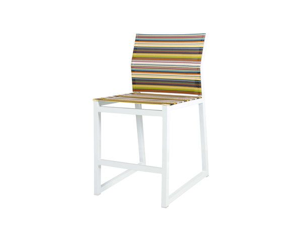 Stripe counter chair by Mamagreen by Mamagreen