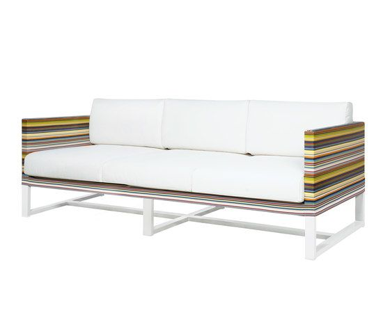 Stripe sofa 3-seater by Mamagreen by Mamagreen