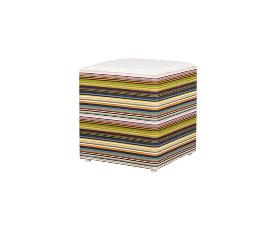 Stripe stool horizontal by Mamagreen by Mamagreen