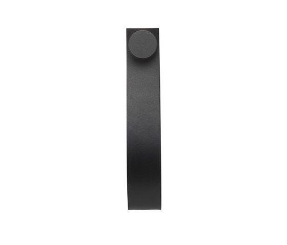 Stropp, black # black pack of 6 by by Lassen