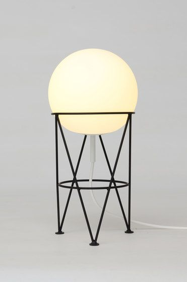Structure and Globe Desk Light by Atelier Areti by Atelier Areti