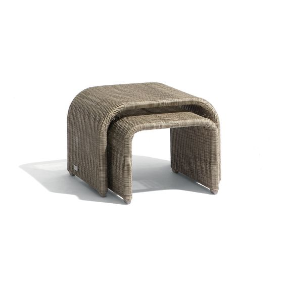 Swing nesting tables (set of 2) by Manutti by Manutti