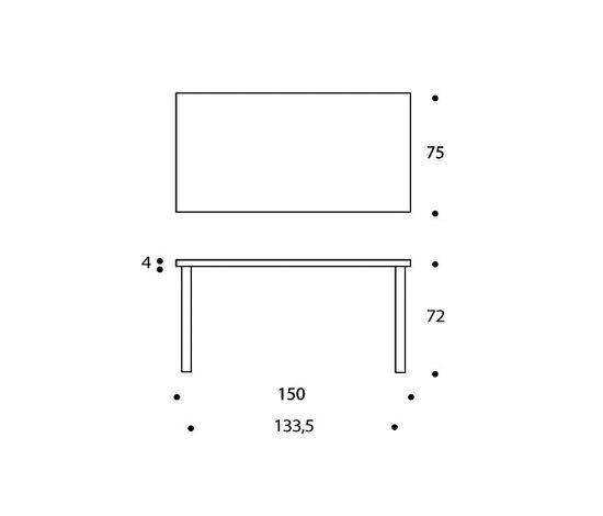 Table 81A by Artek by Artek