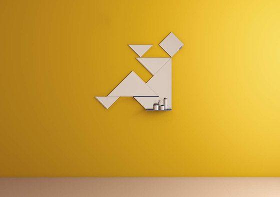 Tangram_mirror by LAGO by LAGO