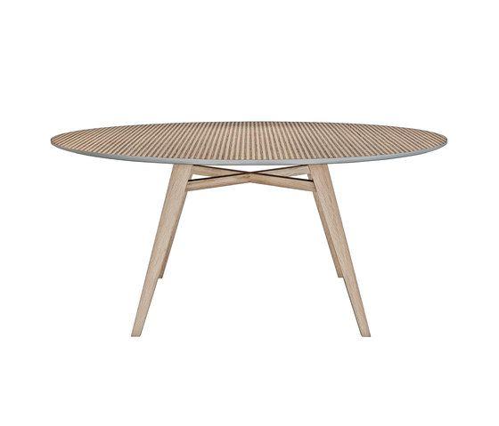 Tavolarte   table round by strasserthun. by strasserthun.