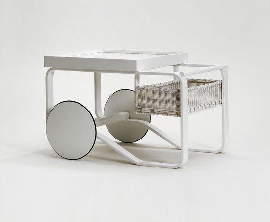 Tea Trolley 900 by Artek by Artek