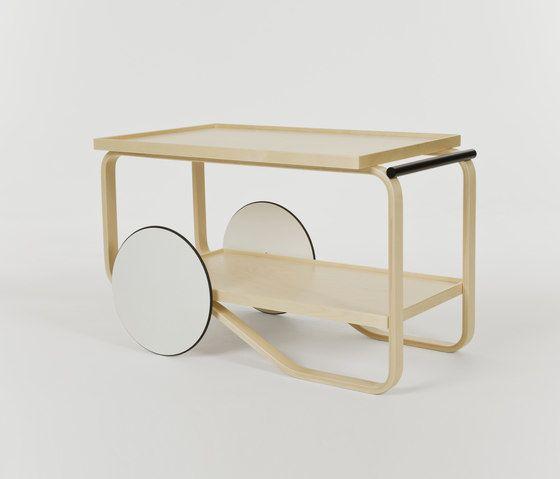 Tea Trolley 901 by Artek by Artek