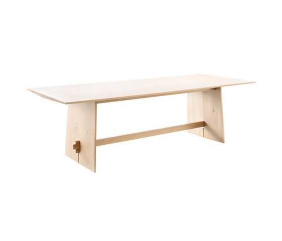 Tension Solid Oak table by Conmoto by Conmoto
