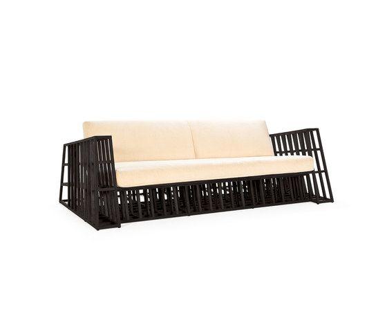 Tilt Sofa by Kenneth Cobonpue by Kenneth Cobonpue