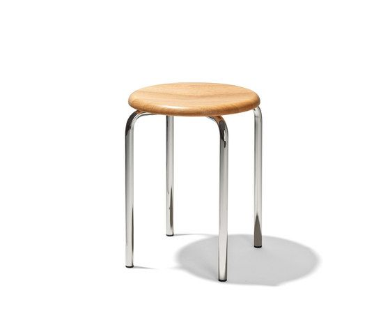 Tom stackable stool by Lampert by Lampert