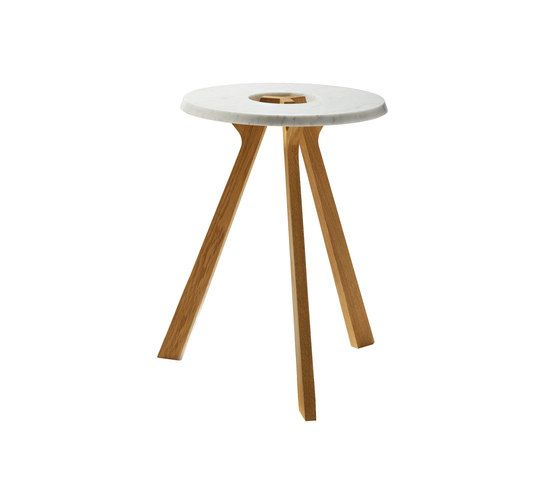 treeO side table by TEAM 7 by TEAM 7