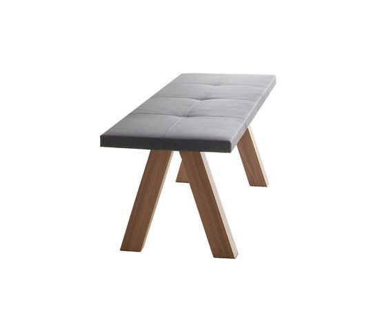 Trestle bench by viccarbe by viccarbe