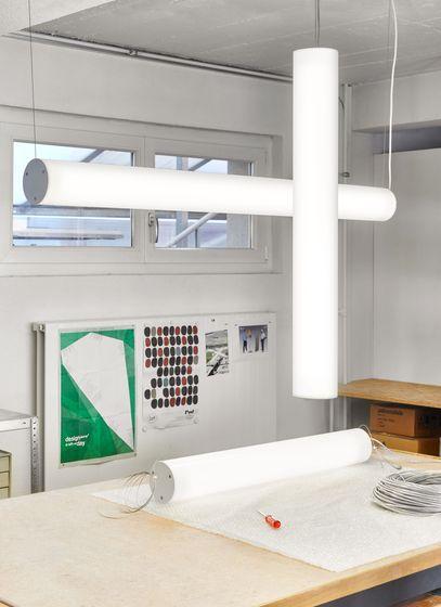 Tube L Pendant V / H by lichtprojekte by lichtprojekte