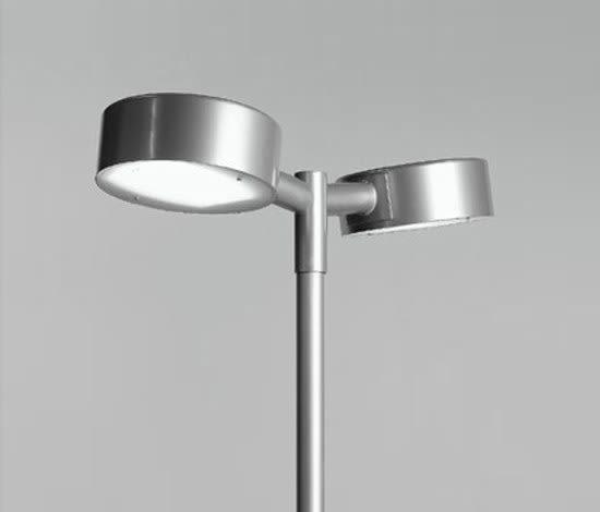 Tvåpuck pole fixture by ZERO by ZERO