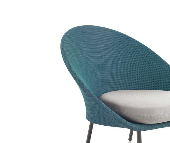Twins Low armchair 3D Mesh by Expormim by Expormim