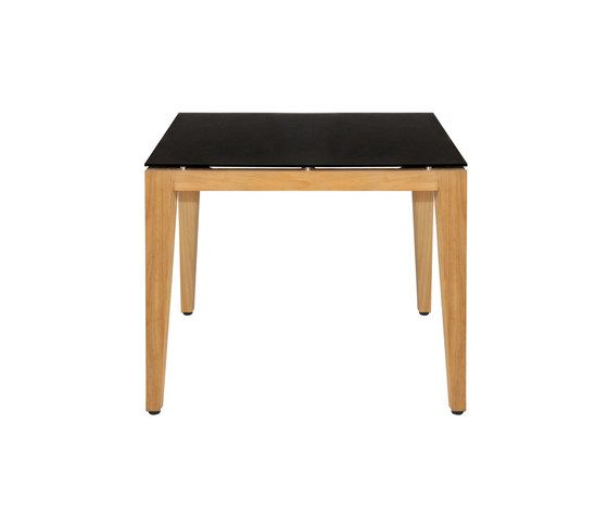 Twizt bistro table 96x96 cm (glass) by Mamagreen by Mamagreen