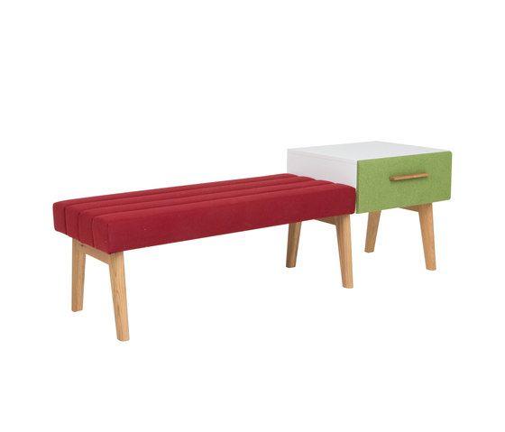 Two-seater bench DBV-280 by De Breuyn by De Breuyn