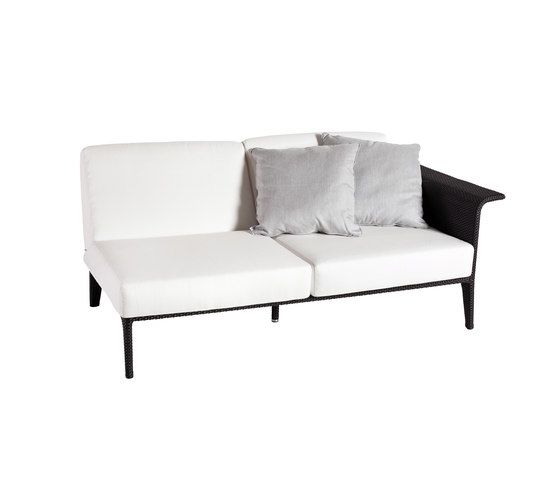 U Module sofa 2 left arm by Point by Point