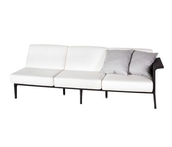 U Module sofa 3 left arm by Point by Point