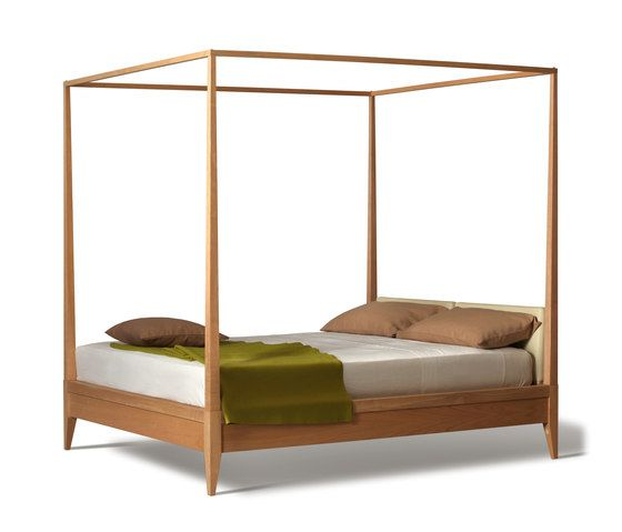 Valentino Bed With Canopy by Morelato