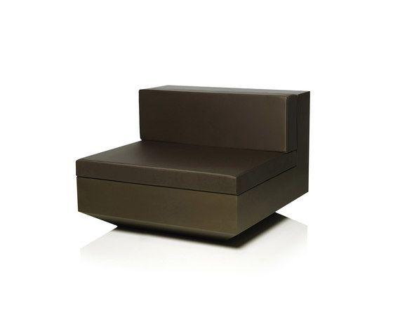 Vela sofa central unit bronze by ram n esteve for vondom for Sofa central table
