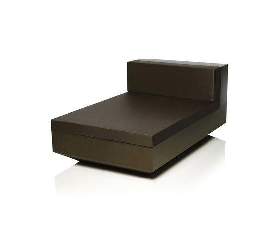 Vela Sofa Chaise longue Unit by Vondom