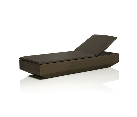 Vela Sun Bed by Vondom