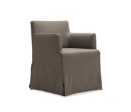 Velvet Due chair by Poliform by Poliform